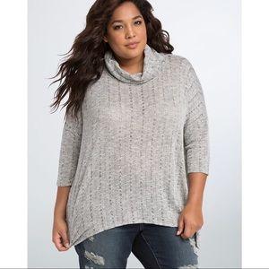 Torrid Cowl Neck Pullover Plus Size Sweater
